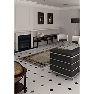 Vives 820220 Alaska Wall And Floor Tile Octagon White Ceramic 316X316mm