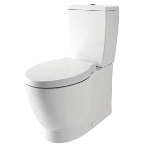 iflo Kamira Close Coupled Back to Wall Bathroom Toilet Cistern