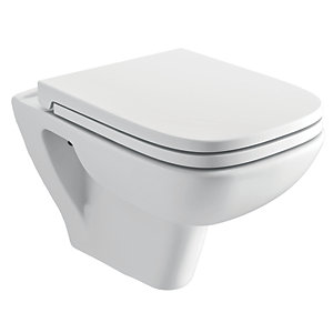 iflo Kamira Soft Close Toilet Seat & Cover (for Wall Hung Pan)