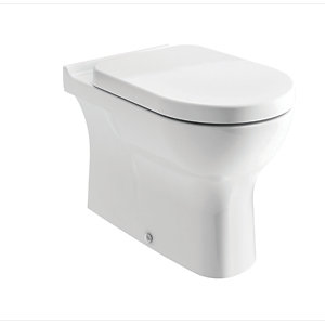 iflo Rhea Bathroom Back to Wall WC Toilet Pan White