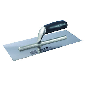 Ragni Carbon Steel Plasterers' Finishing Trowel 330 x 120 mm