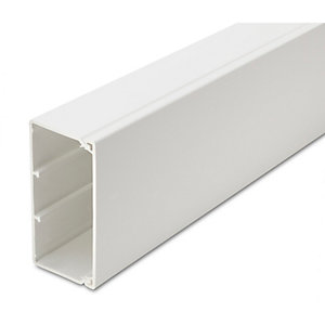 Univolt MAK75/75 75 x 75mm 3m Maxi Trunking Length