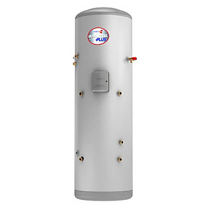 Albion Ultrasteel Plus Unvented Indirect Solar Hot Water Cylinder 180L AUXSN180