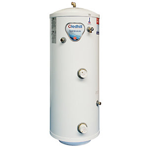 Gledhill Stainless Lite Direct Stainless Steel Unvented Cylinder 150L ASL0010