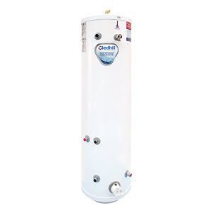 Gledhill Stainless Lite Indirect Stainless Steel Heatpump Cylinder 210L ASL210HPSL