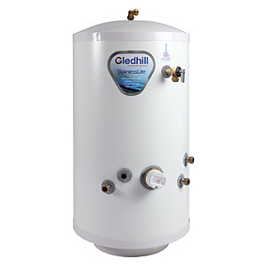 Gledhill Stainless Lite Indirect Stainless Steel Unvented Cylinder 180L ASL0050