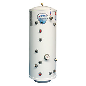 Gledhill Stainless Lite Indirect Unvented Stainless Steel Heatpump Cylinder 180L ASL180HP