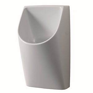 Twyford VC7530WH Galerie Plan Waterless Urinal Plus Fixings