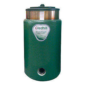 Gledhill BDCOM01 Direct Circular Combination Tank 2010 Part L 900 x 400mm
