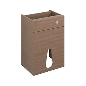 iflo Aliano WC Unit Panel Pack Walnut 600 mm