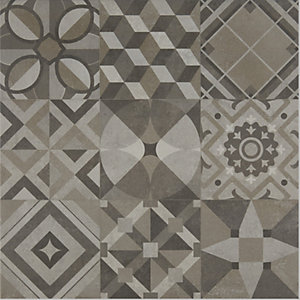 Apollo Patterned Floor Tile 600 x 600 mm (Pack Of 3)
