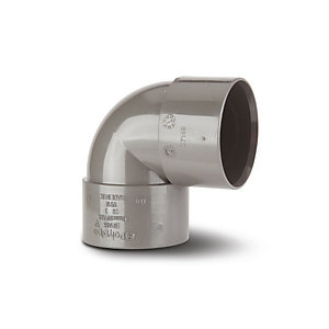 Polypipe Waste Pws15G Grey Solvent Weld 32mm 90Degree Bend