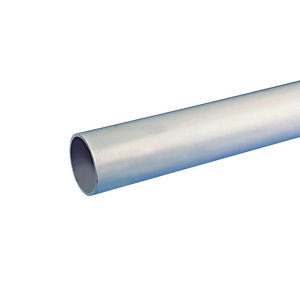 Wavin Osma Waste Push-Fit Plain Ended Pipe Grey 32mm x 3m 4W073G