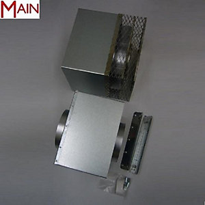 Main Multipoint BF Standard Horizontal Telescopic Flue Kit 9-15""