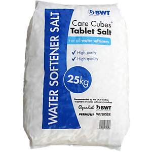 BWT Care Cubes Water Softener Tablet Salt 25kg 330848