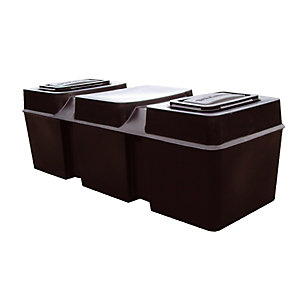 Kingspan Lt50 Ferham Low Level Coffin Tanks Rectangular 227L Cold Water
