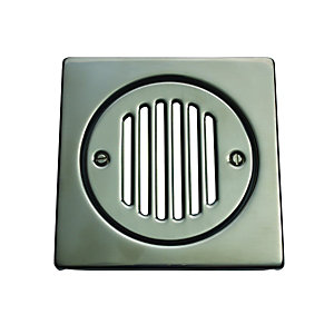 McAlpine Square Tile Grate Stainless Steel FGTOP6SS