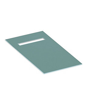 Novellini Deck4150 Deck 4 Wet Room Former Tray 1500x900 mm End Drain & Tile Edge