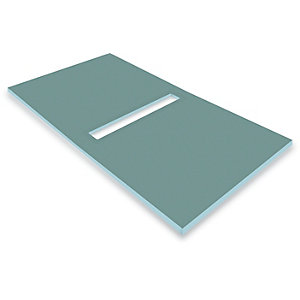 Novellini Deck6180 Deck 6 Wet Room Former Tray 1800x900 mm Center Drain & Tile Edge