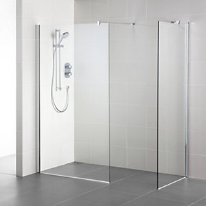 Ideal Standard Synergy Wet Room Panel 1200 mm Clear L6225EO