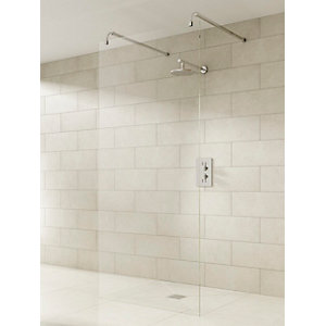 iflo Linear Wet Room Panel & Kit 800 mm