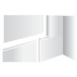 Kudos Aqua4Ma 10 mm Wet Room Panel Pack Tongue & Groove 1200 x 800 mm (Floors) WRAQ102
