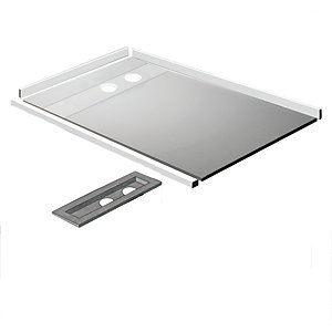 Kudos Aqua4Ma Linear Metal Wet Room Tray & Waste Pack 1200 x 900 mm WRLT12900PACK
