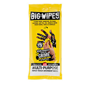 Big Wipes Multipurpose Industrial Strength 4 x 4