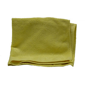 Heavy Duty Colour Coded Microfibre Cloth Yellow